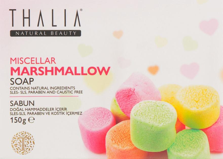 "Натуральное мицеллярное мыло ""Маршмеллоу"" - Thalia Miscellar Marshmallow Soap"