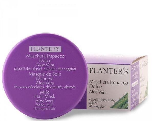 Маска для восстановления волос с Алоэ Вера - Planter's Mild Compress pack with Aloe Vera