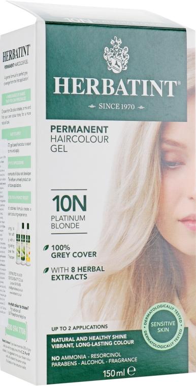 Краска для волос - Herbatint Permament Gel Color