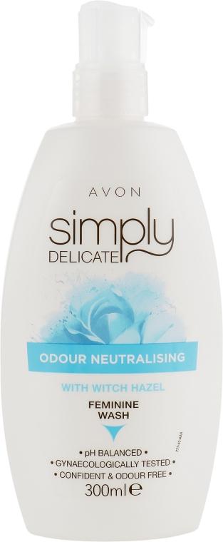 Гель для интимной гигиены против запаха - Avon Simply Delicate With Witch Hazel