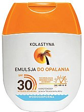Духи, Парфюмерия, косметика Эмульсия для загара - Kolastyna Emulsion Waterproof SPF 30 (mini)