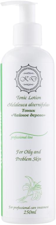 """Тоник для лица """"Чайное дерево"""" - KleoDerma Tonic Lotion Melaleuca Alternifolia"""