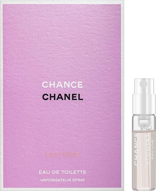 Chanel Chance Eau Vive - Туалетная вода (пробник)