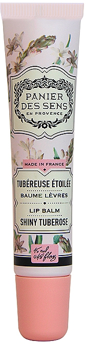 "Бальзам для губ масло ши ""Тубероза"" - Panier des Sens Lip Balm Shea Butter Shiny Tuberose"