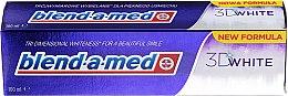 """Духи, Парфюмерия, косметика Зубная паста """"Трехмерное отбеливание"""" - Blend-A-Med 3D White Toothpaste"""