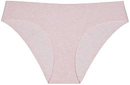 Духи, Парфюмерия, косметика Трусы-слипы бесшовные из хлопка, розовый меланж - Faberlic