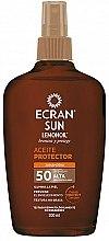 Духи, Парфюмерия, косметика Солнцезащитное масло - Ecran Sun Lemonoil Oil Spray SPF50