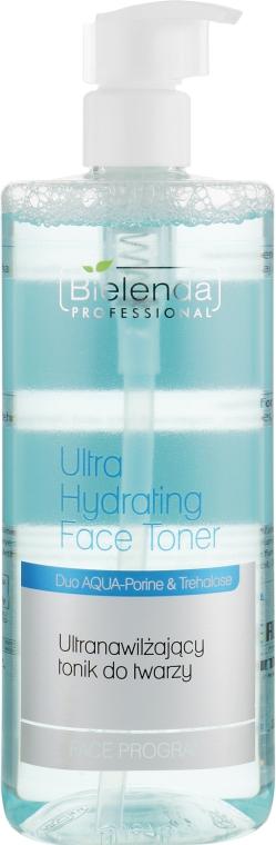 Ультраувлажняющий тоник для лица - Bielenda Professional Face Program Ultra Hydrating Face Toner