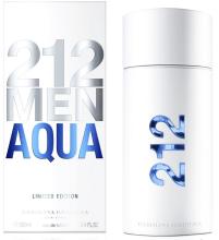 Духи, Парфюмерия, косметика Carolina Herrera 212 Men Aqua - Туалетная вода