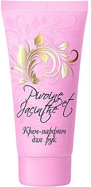 """Крем-парфюм для рук """"Пион и Гиацинт"""" - Floralis Collection Floralis"""