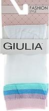 """Духи, Парфюмерия, косметика Носки """"WSM-023"""", bianco/pearl - Giulia"""