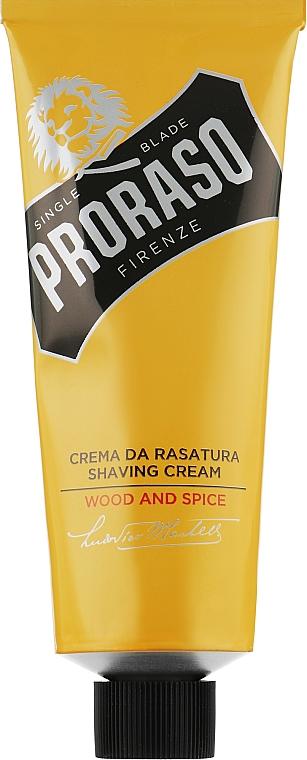 Крем для бритья - Proraso Wood and Spice Shaving Cream