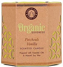 Духи, Парфюмерия, косметика Ароматизированная свеча банке - Song of India Organic Goodness Patchouli Vanilla Soy Wax Candle