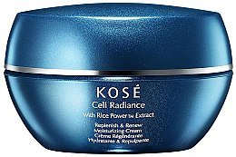 Духи, Парфюмерия, косметика Восстанавливающий увлажняющий крем - Kose Cell Radiance Cream Rice Power Extract