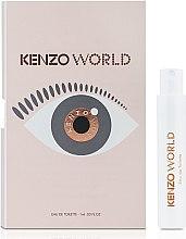 Духи, Парфюмерия, косметика Kenzo World Eau de Tollette - Туалетная вода (пробник)