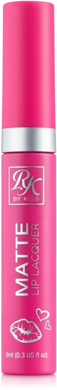 Матовый лак для губ - Kiss Creme Matte Lip Lacquer