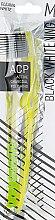 Духи, Парфюмерия, косметика Зубная щетка, желтая - Megasmile Black Whitening
