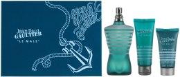 Духи, Парфюмерия, косметика Jean Paul Gaultier Le Male - Набор (edt/125ml + sh/gel/75ml + a/sh/lot/50ml)