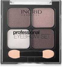 Воск и тени для бровей - Ingrid Cosmetics Professional Eyebrow Set — фото N2