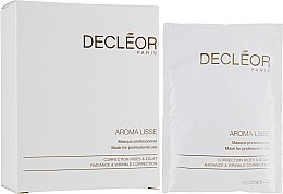 Духи, Парфюмерия, косметика Маска для коррекции морщин - Decleor Aroma Lisse Mask Radiance & Wrinkle Correction Mask