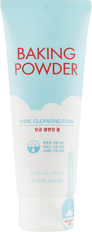 Глубоко очищающая пенка для лица - Etude House Baking Powder Pore Cleansing Foam