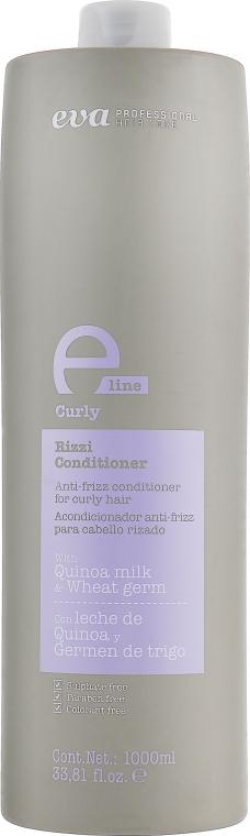 Кондиционер для разглаживания для всех типов волос - Eva Professional E-line Curly Conditioner