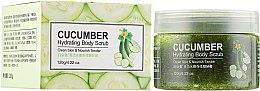 Духи, Парфюмерия, косметика Скраб для тела с экстрактом огурца - Bioaqua Cucumber Hydrating Body Scrub