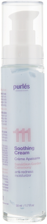 Смягчающий крем для лица - Purles Soothing 111 Cream