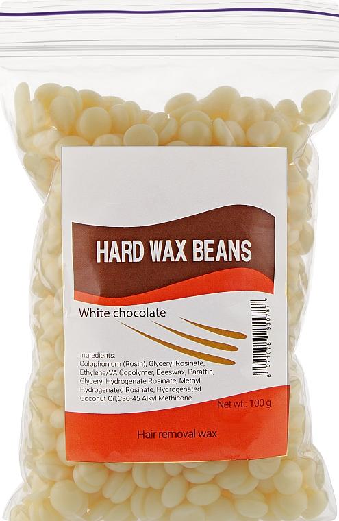 """Пленочный воск в гранулах """"Белый шоколад"""" - Hard Wax Beans"""