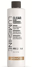 Духи, Парфюмерия, косметика Демиперманентный жидкий краситель для волос - Joico LumiShine Demi-Permanent Liquid Clear