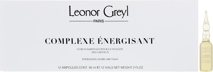 Энергетический комплекс для предотвращения выпадения волос - Leonor Greyl Complexe Energisant