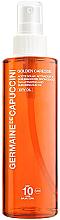 Духи, Парфюмерия, косметика Масло-активатор для загара SPF10 - Germaine de Capuccini Golden Caresse Tan Activating & Subliming Sun Oil