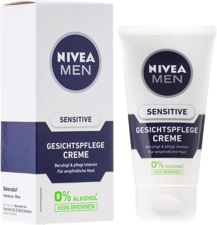 Успокаивающий крем для мужчин - Nivea For Men Sensitive Soothing Cream — фото N1