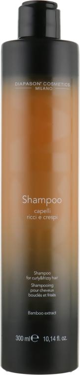 Шампунь для вьющихся и кудрявых волос с экстрактом бамбука - DCM Shampoo For Curly And Frizzy Hair