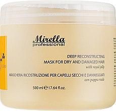 Духи, Парфюмерия, косметика Восстанавливающая маска с маточным молочком - Mirella Professional Bee Form Reconstructing Mask