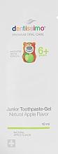 Духи, Парфюмерия, косметика Зубная паста-гель для детей с яблочным вкусом - Dentissimo Junior Thoothpaste-Gel Natural Apple Flavor (пробник)