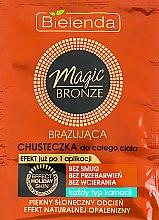 Духи, Парфюмерия, косметика Бронзирующая салфетка для тела - Bielenda Magic Bronze Bronze Body