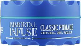Духи, Парфюмерия, косметика Синяя воск-помада для волос - Immortal Infuse Classic Pomade