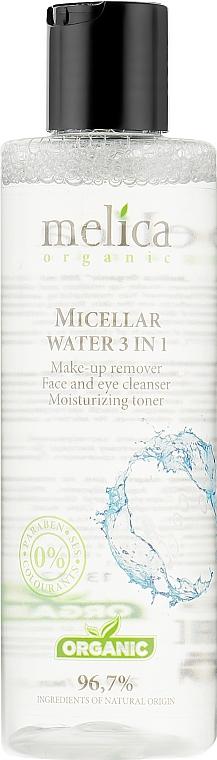 Мицеллярная вода 3в1 - Melica Organic Micellar Water 3 In 1