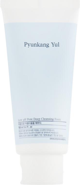 Глубоко очищающая пенка с низким pH - Pyunkang Yul Pore Deep Cleansing Foam — фото N2