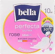 Духи, Парфюмерия, косметика Прокладки Perfecta Rose Deo Fresh Drai Ultra, 10шт - Bella