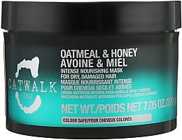 Духи, Парфюмерия, косметика Маска для волос восстанавливающая - Tigi Catwalk Oatmeal & Honey Nourishing Mask