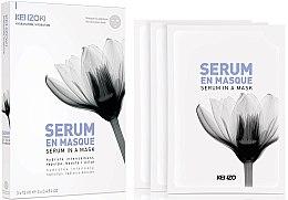 Духи, Парфюмерия, косметика Маска-сыворотка для лица - KenzoKi White Lotus Serum In A Mask