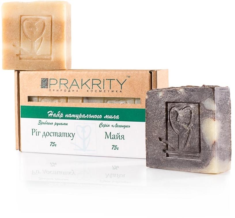 """Набор мыла """"Рог изобилия"""" и """"Майя"""" - Prakrity (soap/75g + soap/75g)"""