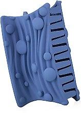 """Духи, Парфюмерия, косметика Крабик для волос """"Волна"""", d-798, синий - Dini Matte Style"""