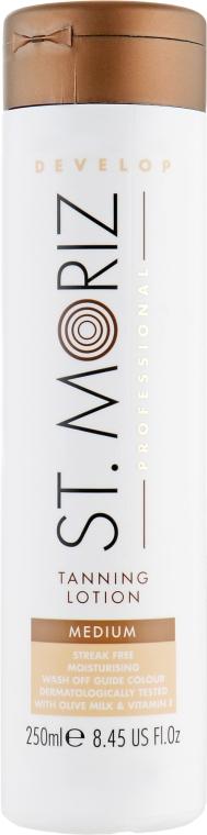 Лосьон-автозагар для тела - St.Moriz Self Tanning Lotion Medium