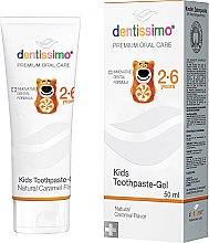 Духи, Парфюмерия, косметика Зубная паста для детей - Dentissimo Kids Toothpaste Caramel