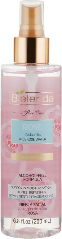 "Увлажняющий мист для лица ""Роза"" - Bielenda Rose Care Moisturizing Mist"