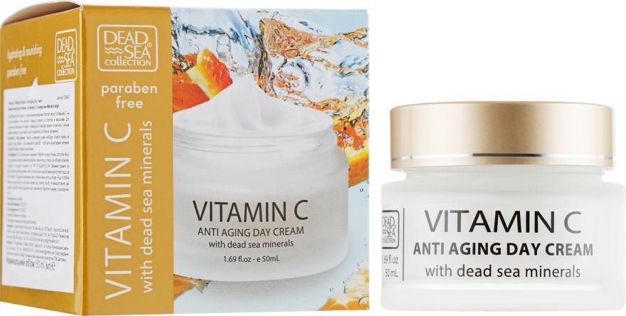Дневной крем против морщин - Dead Sea Collection Vitamin C Day Cream