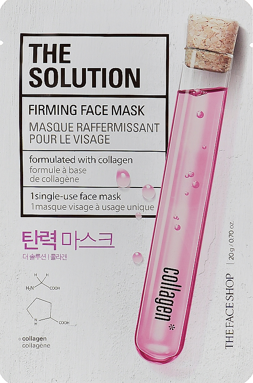 Укрепляющая маска для лица - The Face Shop The Solution Firming Face Mask